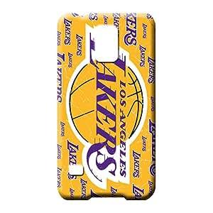 samsung galaxy s5 Hot mobile phone skins Hd Shock-dirt los angeles lakers nba basketball