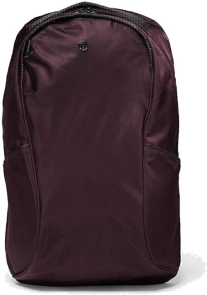 "LULULEMON Out of Range fits 15"" laptop Backpack 20L Gym Travel School -Dark Cherry"
