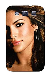 Durable Defender Case For Galaxy S3 Tpu Cover(eva Mendes (125) )