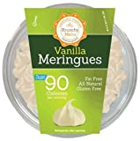 Krunchy Melts' Original Meringue Cookies 4 oz Tub (Vanilla)