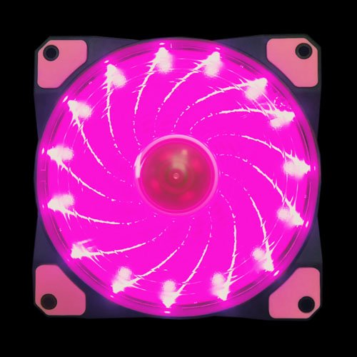 Pink Led Fan Lights - 5