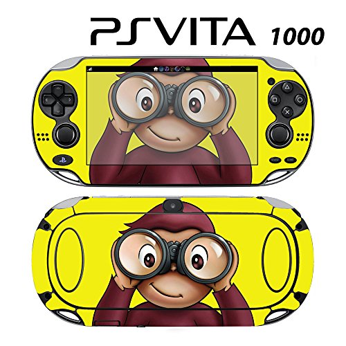 Skin Decal Cover Sticker for Sony PlayStation PS Vita (PCH-1000) - Curious George -  Decals Plus, PV1-KD06