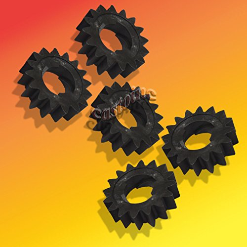 5 Starter Gear 16 Tooth Fits Briggs # 695708, 280104, 280104S,th 4155, 693059 ,,#G434G14 1T4G3484TYG395336 ()
