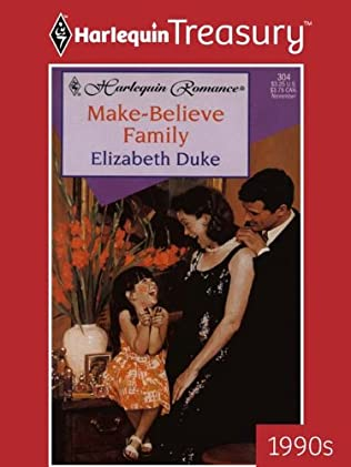 book cover of Make-believe Family