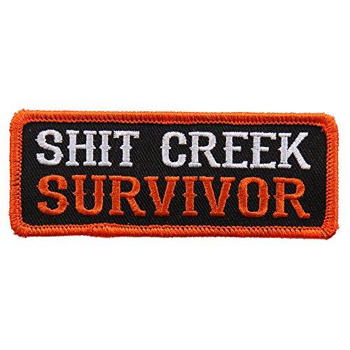 Survivor Chick - Hot Leathers Unisex-Adult Shit Creek Survivor Patch (Multicolor, 4