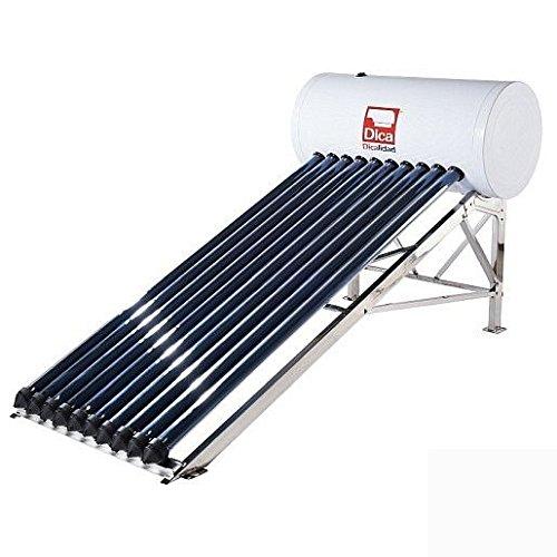 Dica CASOL100L Calentador Solar de Tubos, 100 l