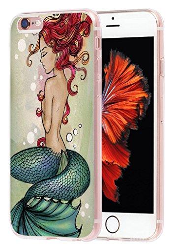 6S Plus Case mermaid, Apple Iphone 6 Plus Case beautiful mermaid design