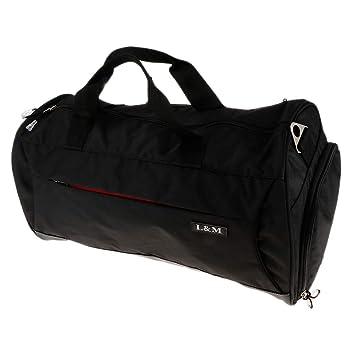 F Fityle Mochila para Yoga Impermeable Grande Gym Bag Bolso Gimnasio Deportes Bolsa para Fitness Ejercicios Viajes para Hombre Mujer - Negro: Amazon.es: ...