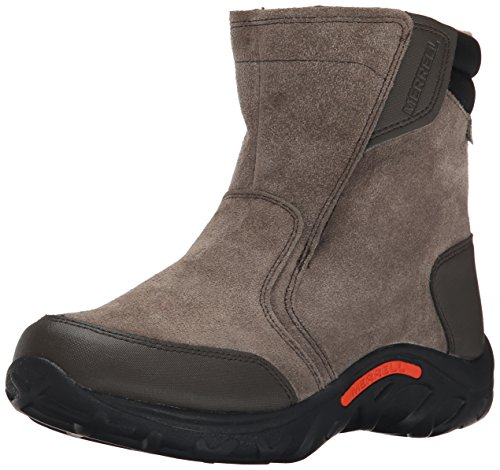 Merrell Jungle Moc Waterproof Cold Weather Boot (Little Kid/Big Kid), Gunsmoke, 7...