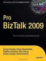 Pro BizTalk 2009 Front Cover