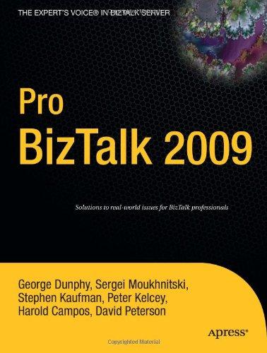 [PDF] Pro BizTalk 2009 Free Download | Publisher : Apress | Category : Computers & Internet | ISBN 10 : 1430219815 | ISBN 13 : 9781430219811