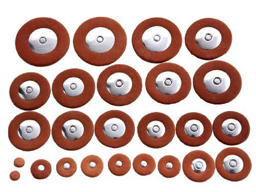 D'Luca Tenor Saxophone Pads Replacement Set by D'Luca