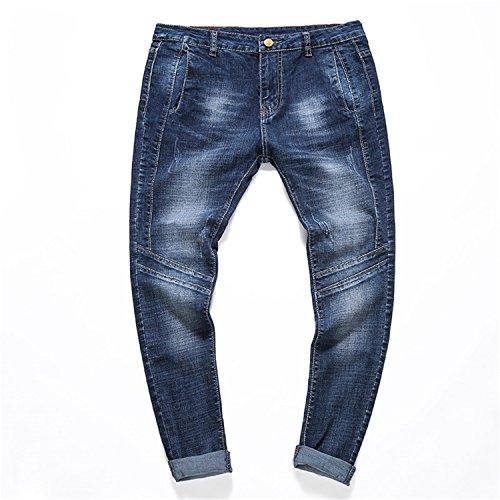 Autumn New Men's Slim Jeans - 6