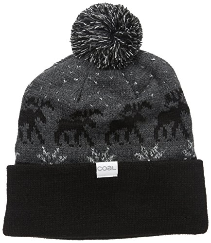 Coal Mens The Lodge Beanie  Black  One Size