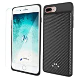 iPhone 7/6s Battery Case,Maxwarm 2500mAh Ultra Thin Portable Charging Case Rechargeable Extended Battery Pack Case Power Pack Juice Bank for 4.7Inch iPhone 7/8/6s/6 (Black)