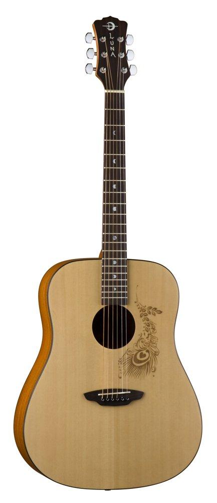 Luna Gypsy Series Henna Dreadnought アコースティックギター アコースティックギター アコギ ギター (並行輸入) B003EGYTJK