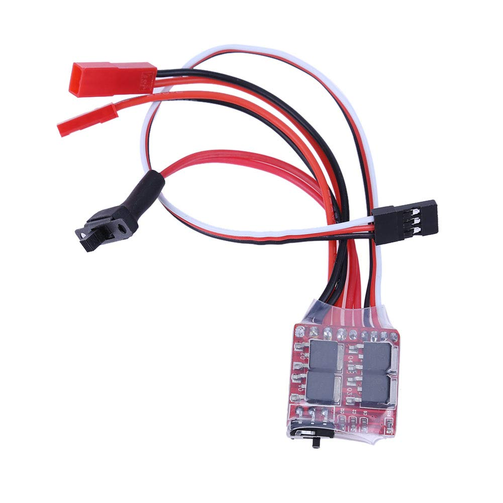20A Brushed ESC Electronic Speed Controller With Brake for RC Car//Boat//Tank