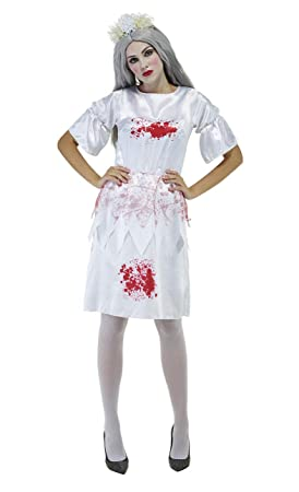 Zombie D'horreur Infirmière Robe Femme Déguisement Sanglante 2IH9ED