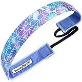 4 Pack Women Sports Headband Non Slip Elastic...