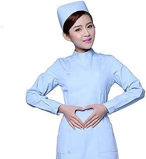 QZHE Abbigliamento medico Uniforme Dell'Uniforme Dell'Uniforme Dell'Infermiere Dell'Uniforme Dell'Uniforme Dell'Uniforme di Medico Uniforme del Laboratorio di Medico