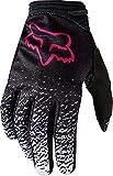 2018 Fox Racing Youth Girls Gloves-Black/Pink-YXS