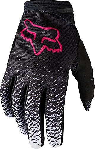 Youth Gloves Dirtpaw (Fox Racing 2018 Youth Girls Gloves-Black/Pink-YL)