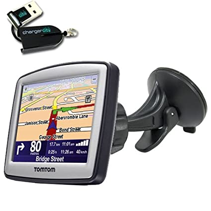 Amazon.com: ChargerCit OEM Windshield Suction Mount KIT for TOMTOM