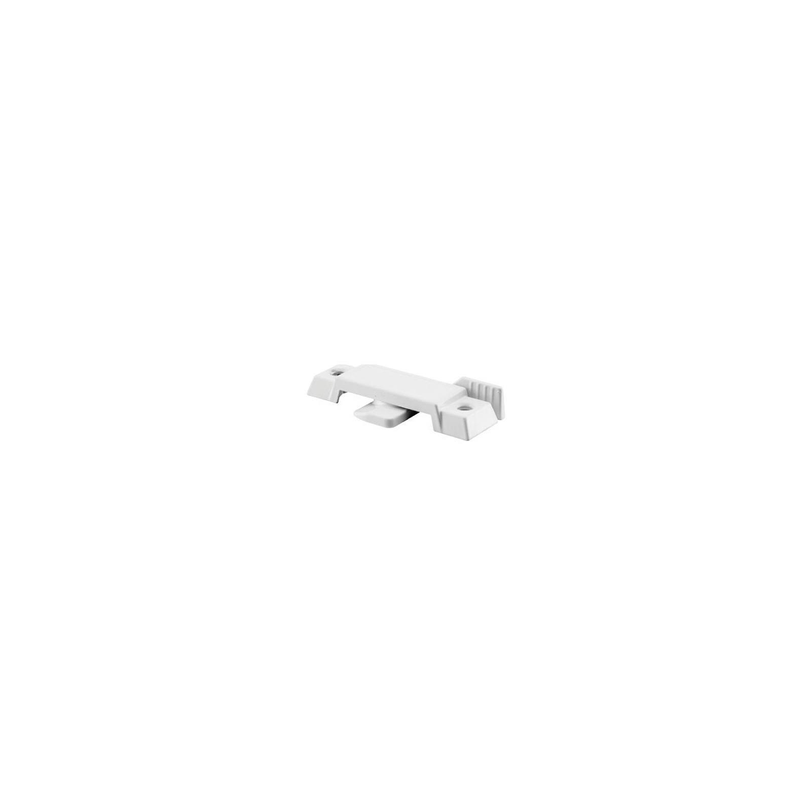 Prime-Line Sash Lock Vertical And Horizontal Sliding Windows 3/8'' Die-Cast White Finish Carded