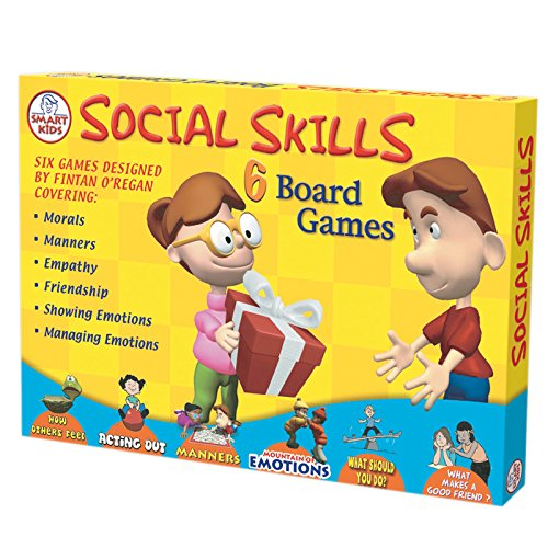 Didax Educational Resources Social Skills Board Games (6 Pack), Multicolor (Best Educational Board Games)