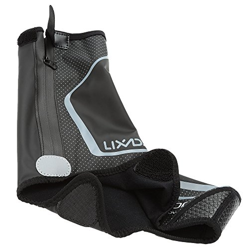 Gris MTB Térmico Chanclos Impermeable Viento Protector A Bicicleta Lixada Montaña de Cubrezapatos Prueba de ROfpwp