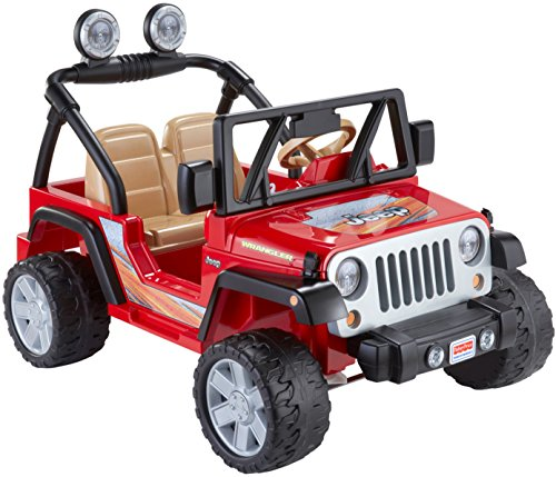 Ride On Toys Age 6 : Ride on toys power wheels jeep wrangler red boys age