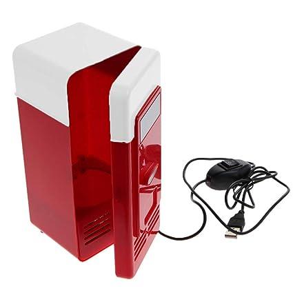 Amazon.es: ZAZCB Coche doméstico Mini refrigerador Nevera de ...