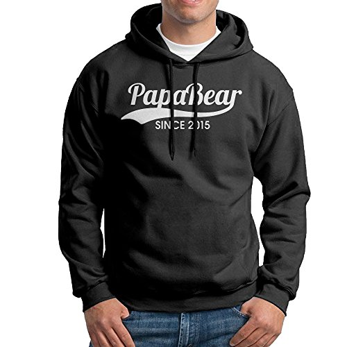 Best Popular Papa Bear Since 2015 Hooded Sweatshirt