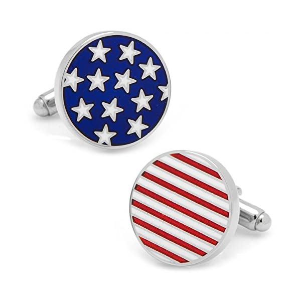 Stars-and-Stripes-American-Flag-Cufflinks