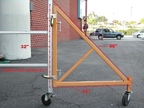 CBM 33' WIDE Swing Outrigger for 18' Tall Tower Multi-Purpose 6-Ft. Baker-Style Scaffold - Set of 4 Swing Outriggers