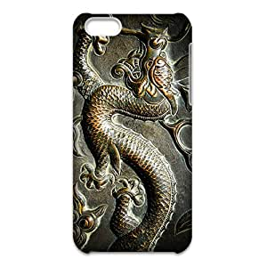 Custom mural ART Chinese Style Dragon Cover Case protector for iPhone 5C 3d Case