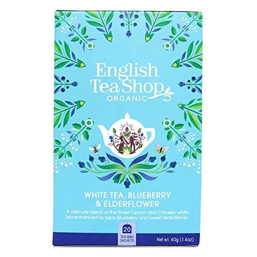 English Tea Shop Organic White Tea Blueberry & Elderflower Super Teas