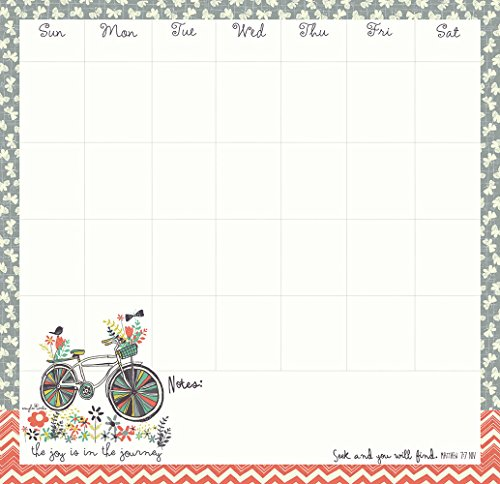Legacy Publishing Group, Inc. Legacy Undated Weekly Reminder Pad, Joy in the Journey (WKR18765)