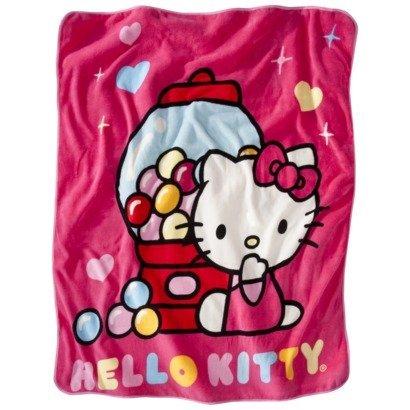 Amazon Hello Kitty Scented Micro Plush Fleece Throw Blanket 40 Best Hello Kitty Fleece Throw Blanket
