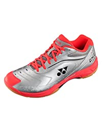 Yonex 2017 Power Cushion 65 Badminton Shoe ( Silver/Red )