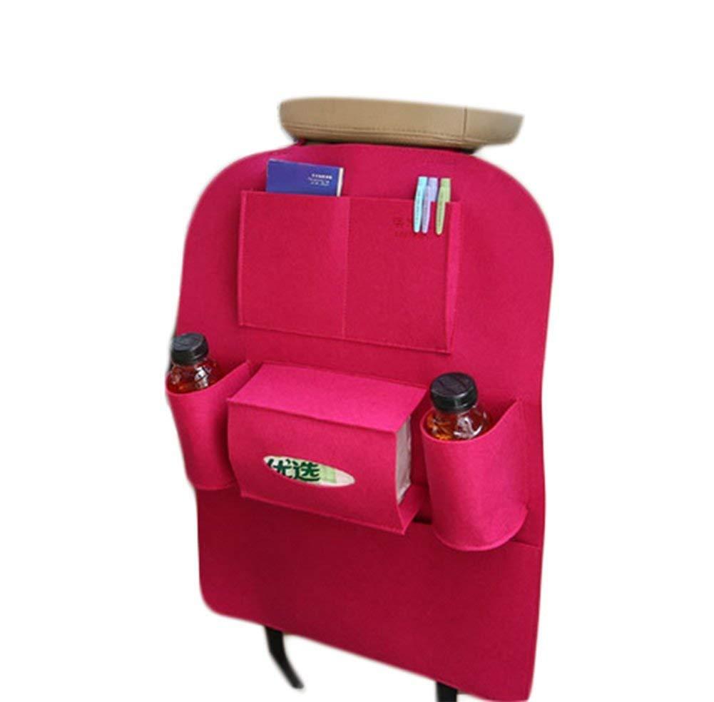 DaoRier 1pc Auto Protector de Espalda Bolso de Respaldo de Asiento Trasero Organizador de Bolsa Auto Asiento Bolsa Viaje Carro Asiento Bolsa