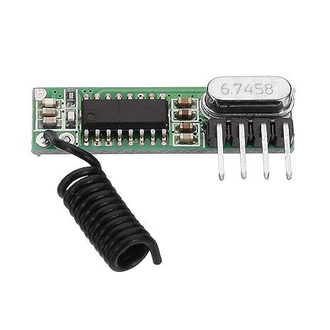 ILS - 3 Piezas DC3~5V AK-119 433.92MHZ 4 Pin Placa Receptor ...
