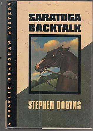 book cover of Saratoga Backtalk