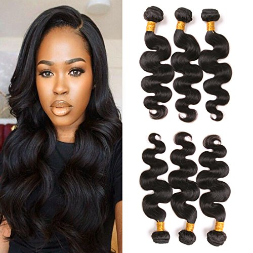 Price comparison product image Daiweier Brazilian Body Wave 3 Bundles 10 12 14 Inches Deals 7a Dark Brown Wholesale Cheap Price Unprocessed Human Hair Extension Sale