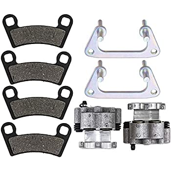 Left Brake Caliper Assembly For 2007-2017 Polaris Outlaw RZR S 450 525 570 800 900 Replaces 1912274 1911529 1911186