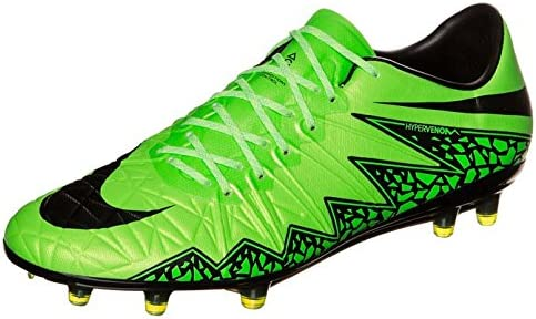 Nike Hypervenom Phinish FG Chaussures Football Blanc Noir Vert