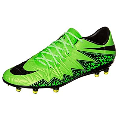 new product 0f586 3b9ca Nike Hypervenom Phinish Men s Firm-Ground Soccer Cleat (7.5, Green Strike)