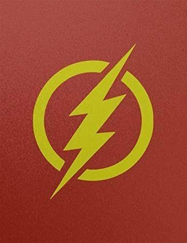 Amazon.com: The Flash Logo Reverse Flash Outline