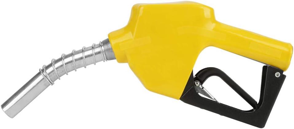 Boquilla de combustible de corte automático de aluminio Pistola pulverizadora Combustible de combustible Herramienta de dispensación de aceite diesel para combustible Combustible de gasolina de queros