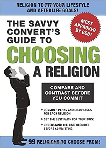 The Savvy Convert's Guide to Choosing a Religion by Knock Knock (2008-07-01)